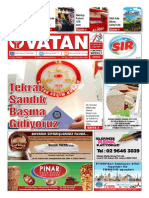 Yeni Vatan Weekly Turkish Newspaper August 2015 Issue 1815(1)