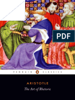 Aristotle - Art of Rhetoric (Penguin, 2004)