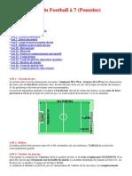 Lois Du Football a 7