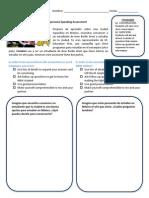 interpersonal speaking assessment