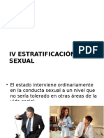 IV Estratificación Sexual