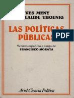 Politicas Publicas Meny