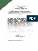 Carta Soporte