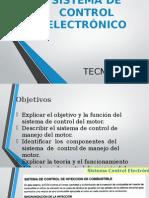 Sistemas de Control Electrónico