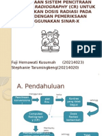 Penggunaan Sistem Pencitraan Computed Radiography (Cr)