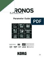 Korg Kronos Parameter Guide