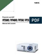 Manual Nec Vt48