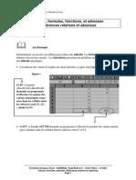 Découverte Et Pratique Du Tableur. Module de Base. (Ressource 2391)