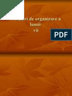 Niveluri de Organizare a Lumii Lentu Catalina
