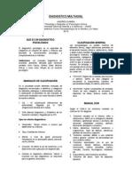Diagnóstico Multiaxial