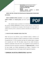 Subsano Omision Constitucion en Actor Civil Dni Nancy Katerine Ultimo Valleeeee