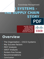 Cisco Supply Chain case study