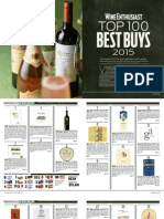 Wine Enthusiast Top 100 Best Buys 2015