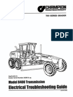 motoniveladora champion Section_6_Transmission_Model_8400