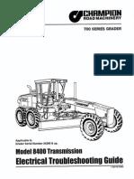 Manual MN-026 Champion 700 Series Motor Grader Series III
