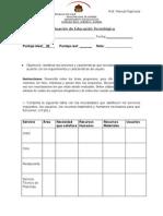 Evaluación de Educación Tecnológica, Unidad 1, Diseño de un servicio.