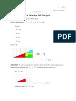La Paradoja Del Triangulo