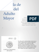 Cartilla de Salud Adulto Mayor