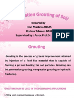 Presentation Permeation Grouting Prof.dr. Hanifi(1)