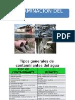 1.2 Contaminantes Del Agua (Parte 2)