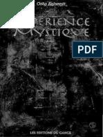 Osho rajneesh - Experience mystique french book.pdf