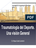 Traumatologia Del Deporte y Acupuntura