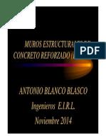Conferencia Muros Estructurales de Concreto Reforzado - Cusco [Compatibility Mode]