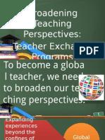 Teacher Exchange Program