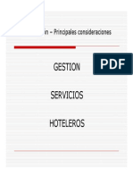 1 Clase Gestion y servicios Hoteleros
