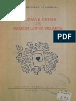 La suave patria de Ramón López Velarde