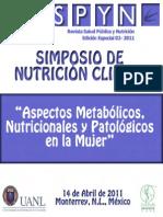 Simposio de Nutrición Clínica
