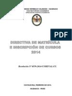 Direct Iva Matric Ula 2014