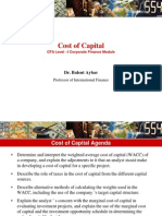 Shpenzimet Kapitale - Cost of Capital