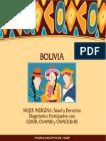 mujer indigena salud y derechos Diagnostico Bolivia Web