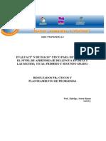 Como Determinar Nivel de Aprendizaje en Español y Matematicas