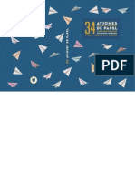 34 Aviones de Papel
