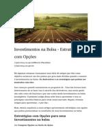 Toro Radar - Artigo - Investimentos Na Bolsa, Estratégias Com Opções