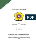 Cover Tenosynovitis de'Quervain