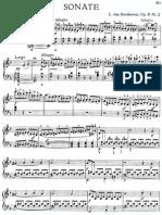 Beethoven. Piano Sonata in D Min Op.125