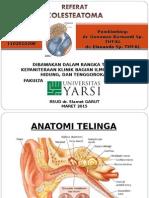 Referat PPT - Kolesteatoma Nisrina KL