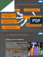 El Error Humano, Tratamiento y Resultados Check