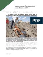 20.07.2014 Comunicado Solución a Inundaciones en Fraccionamiento Vivah Reforma EVV