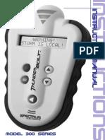 Detector Thunderbolt Manual