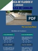Hidraulica de Canales Semestre 2014-2