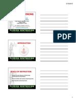 Florida Sentencing Lecture Slides Handout, 2015 FACDL Board Certification Review Seminar