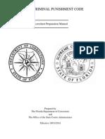 2014 Criminal Punishment Code Scoresheet Preparation Manual
