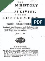 The Roman History by Titus Livius - John Freinsheim (1764-1765) Volume 6
