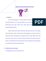 Laporan Pendahuluan Gangguan Sistem Reproduksi Kanker Ovarium.docx