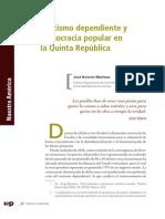 MartineRentismo dependiente y democracia popular en Venezuela