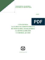 Strategija Za Razvoj Na Energetikata 2008-2020 So Vizija Do 2030 (Web)